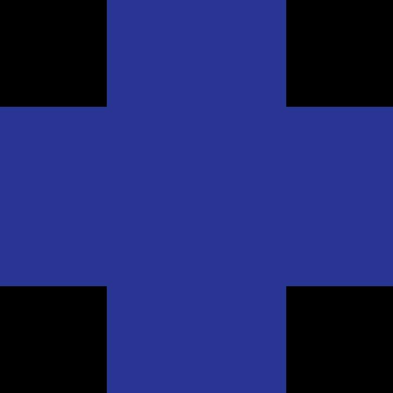 cross dark blue Clipart illustration in PNG, SVG