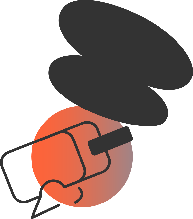 head with virtual reality headset vr Clipart illustration in PNG, SVG
