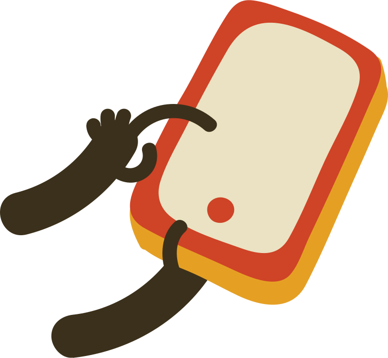 style mobile phone in a hand Vector images in PNG and SVG | Icons8 Illustrations