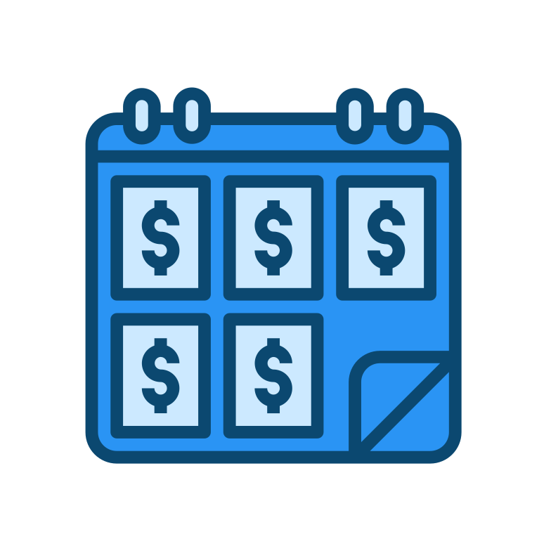 style Payment calendar Vector images in PNG and SVG | Icons8 Illustrations