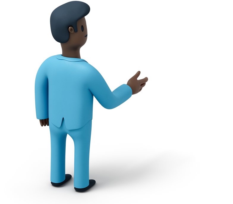 man hello Clipart illustration in PNG, SVG