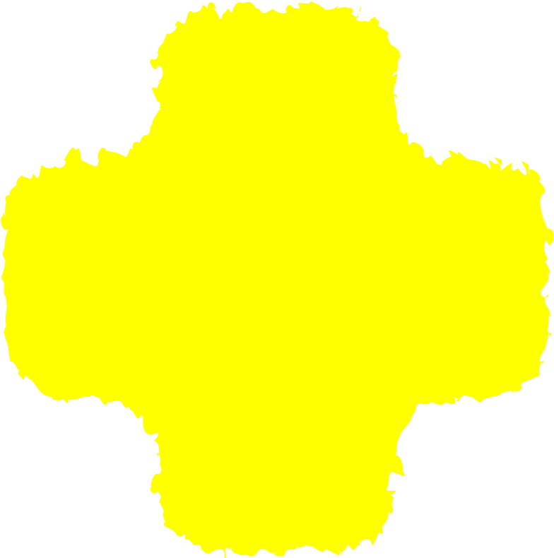 cross yellow Clipart illustration in PNG, SVG