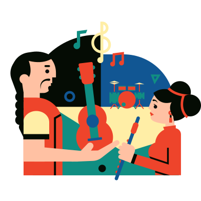 style Musical group images in PNG and SVG | Icons8 Illustrations