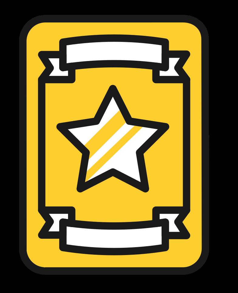 police badge Clipart illustration in PNG, SVG
