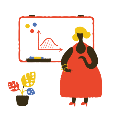 style School teacher near the blackboard images in PNG and SVG | Icons8 Illustrations