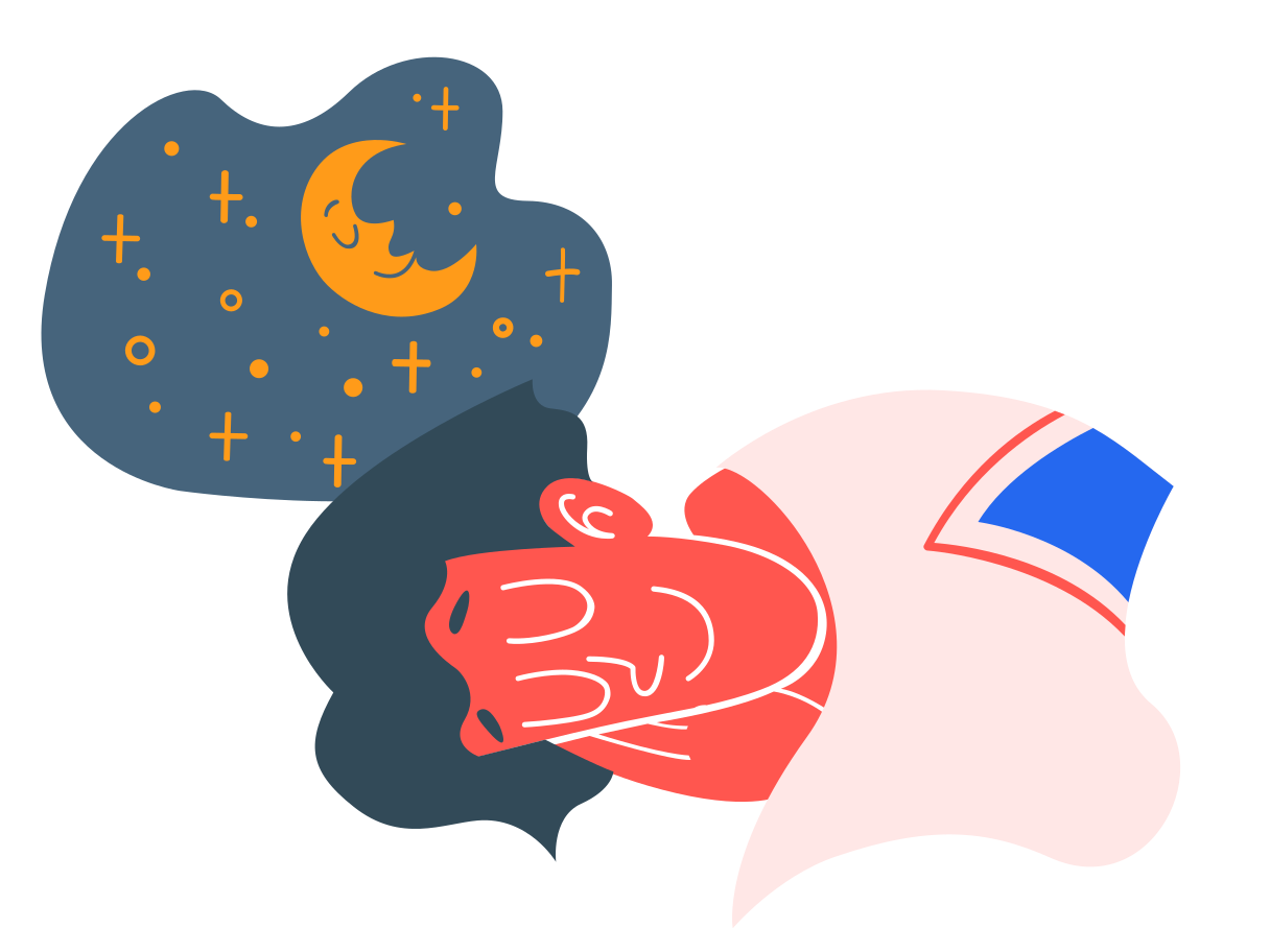 Sweet dreams Clipart illustration in PNG, SVG
