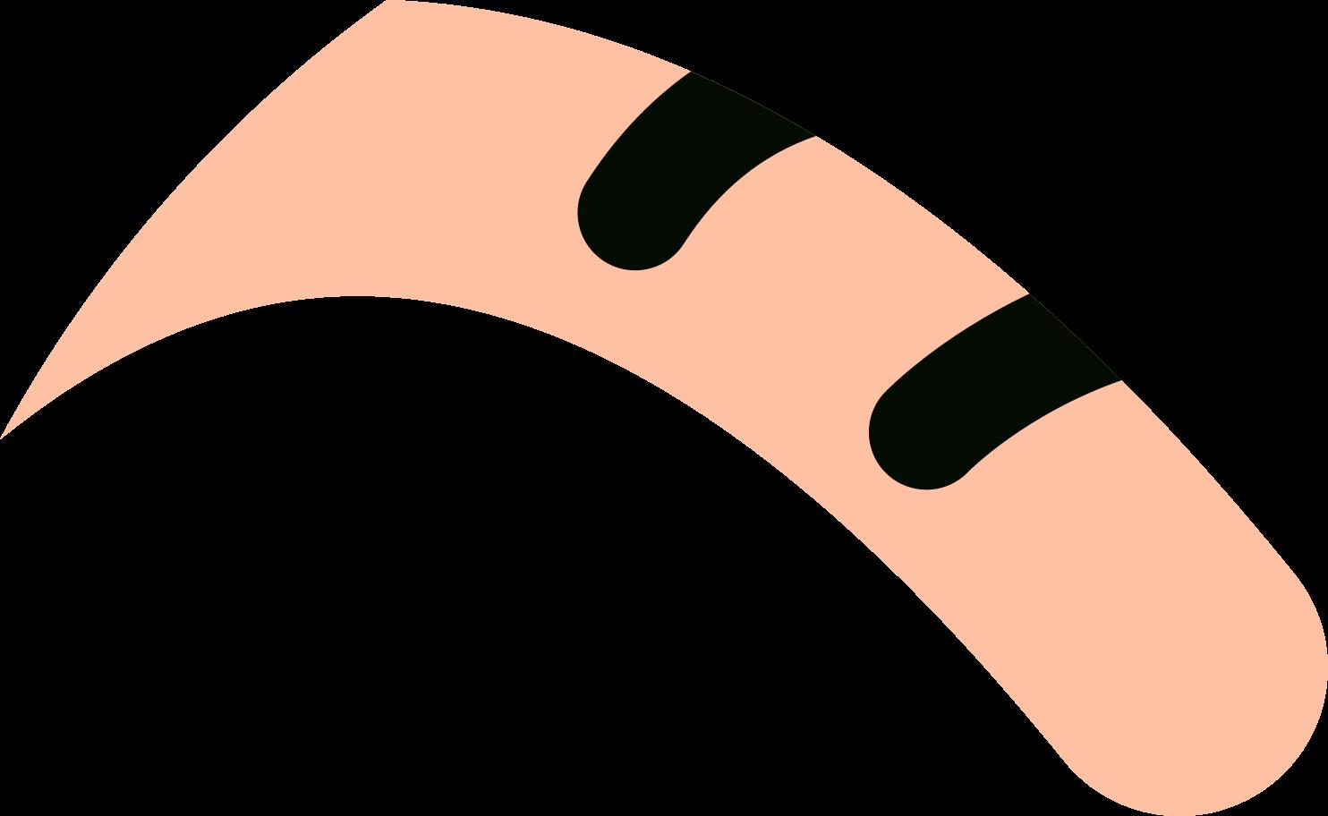 Ilustración de clipart de cola de gato en PNG, SVG