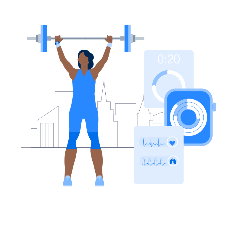 style Smart Fitness Vector images in PNG and SVG | Icons8 Illustrations