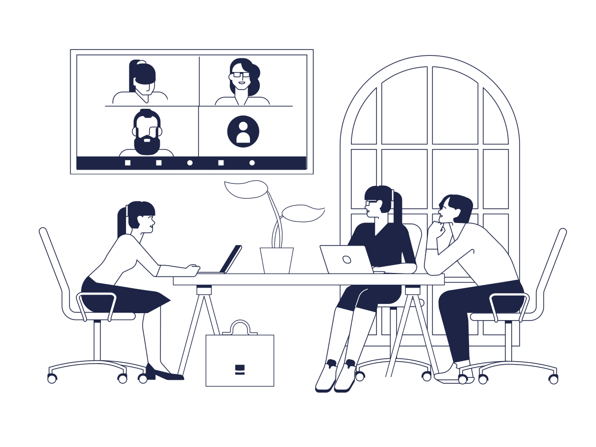 style Zoom meeting images in PNG and SVG | Icons8 Illustrations