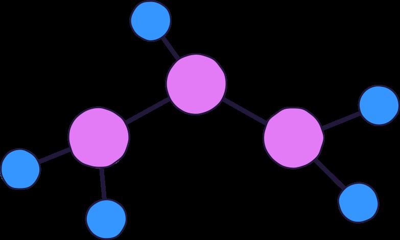 molecule Clipart illustration in PNG, SVG