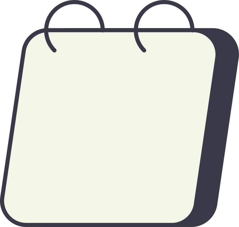 calendar empty Clipart illustration in PNG, SVG