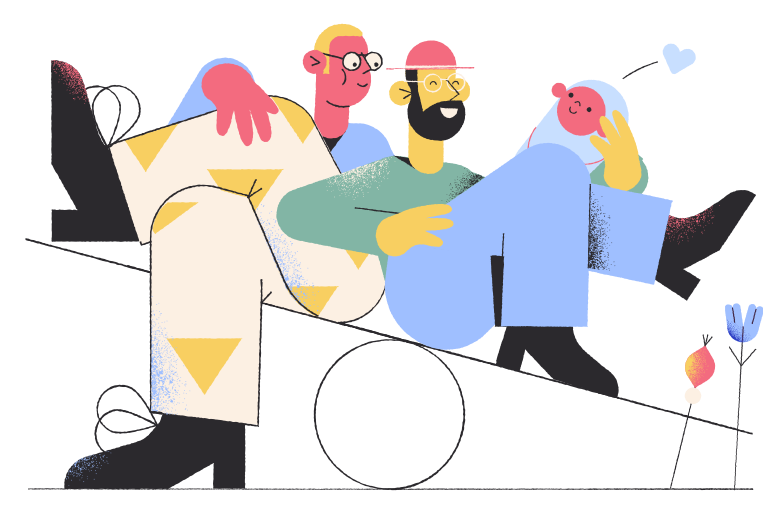 Fathers Clipart illustration in PNG, SVG