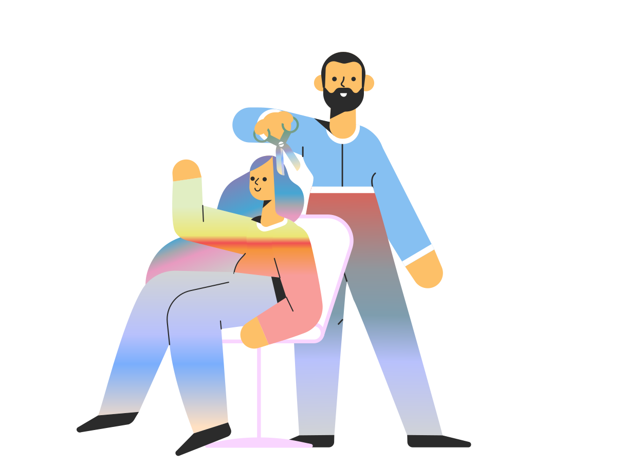 style Barber Vector images in PNG and SVG | Icons8 Illustrations
