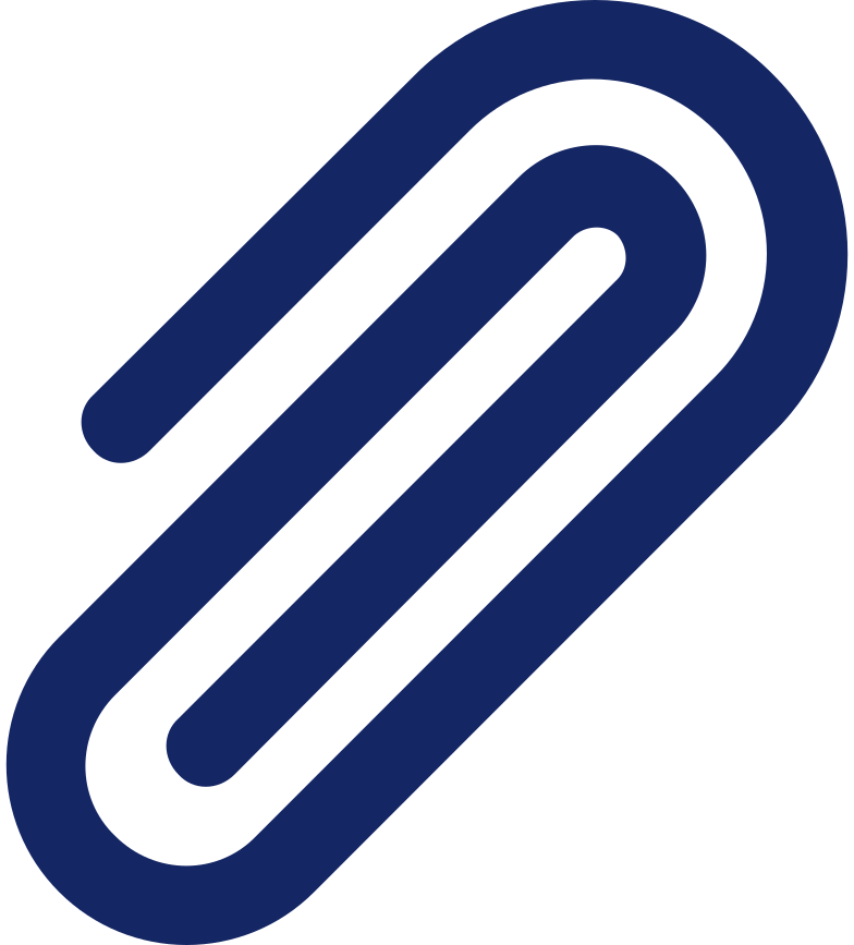 paper clip Clipart illustration in PNG, SVG