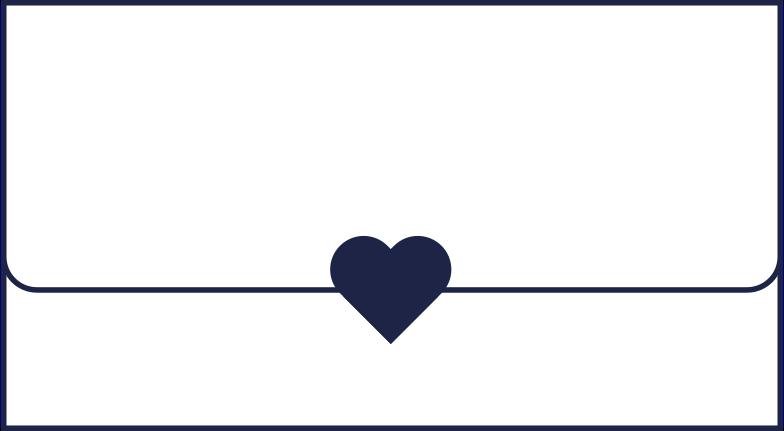 Valentinstag brief Clipart-Grafik als PNG, SVG