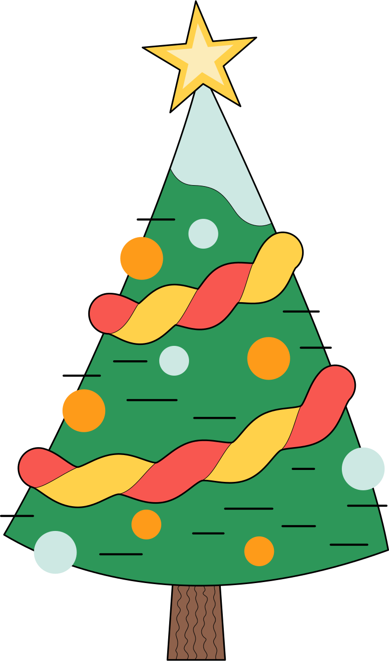 style xmas tree Vector images in PNG and SVG | Icons8 Illustrations