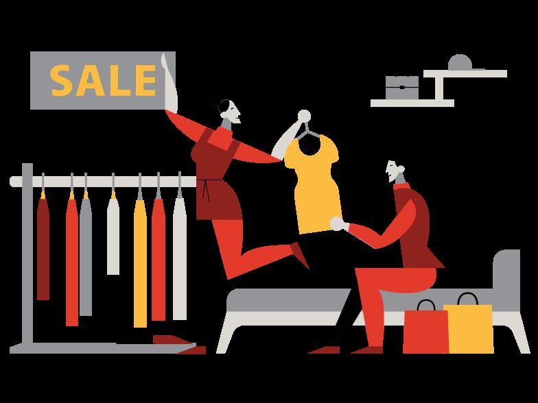 Immagine Vettoriale Shopping in PNG e SVG in stile  | Illustrazioni Icons8