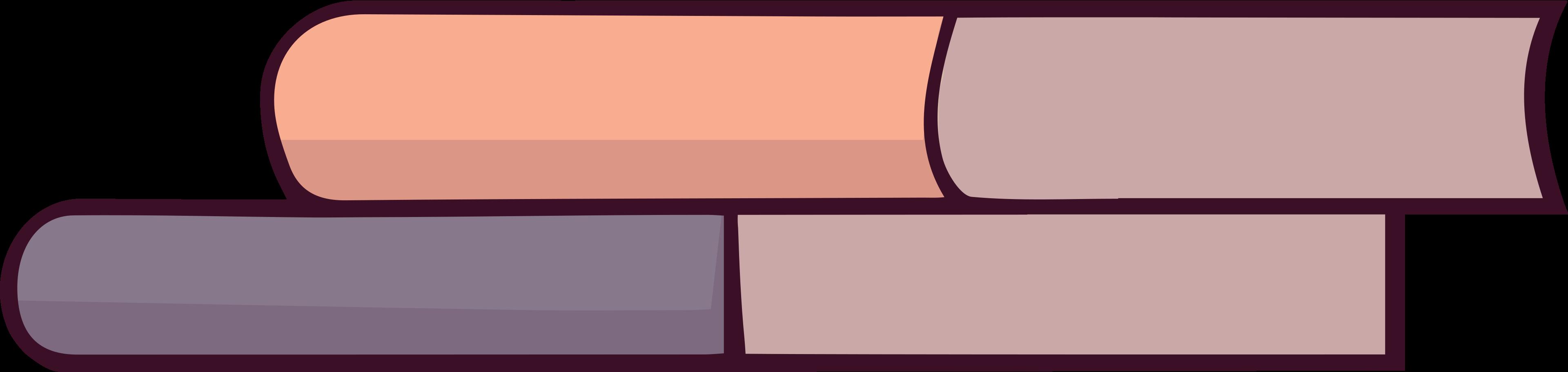 Ilustración de clipart de libros en PNG, SVG
