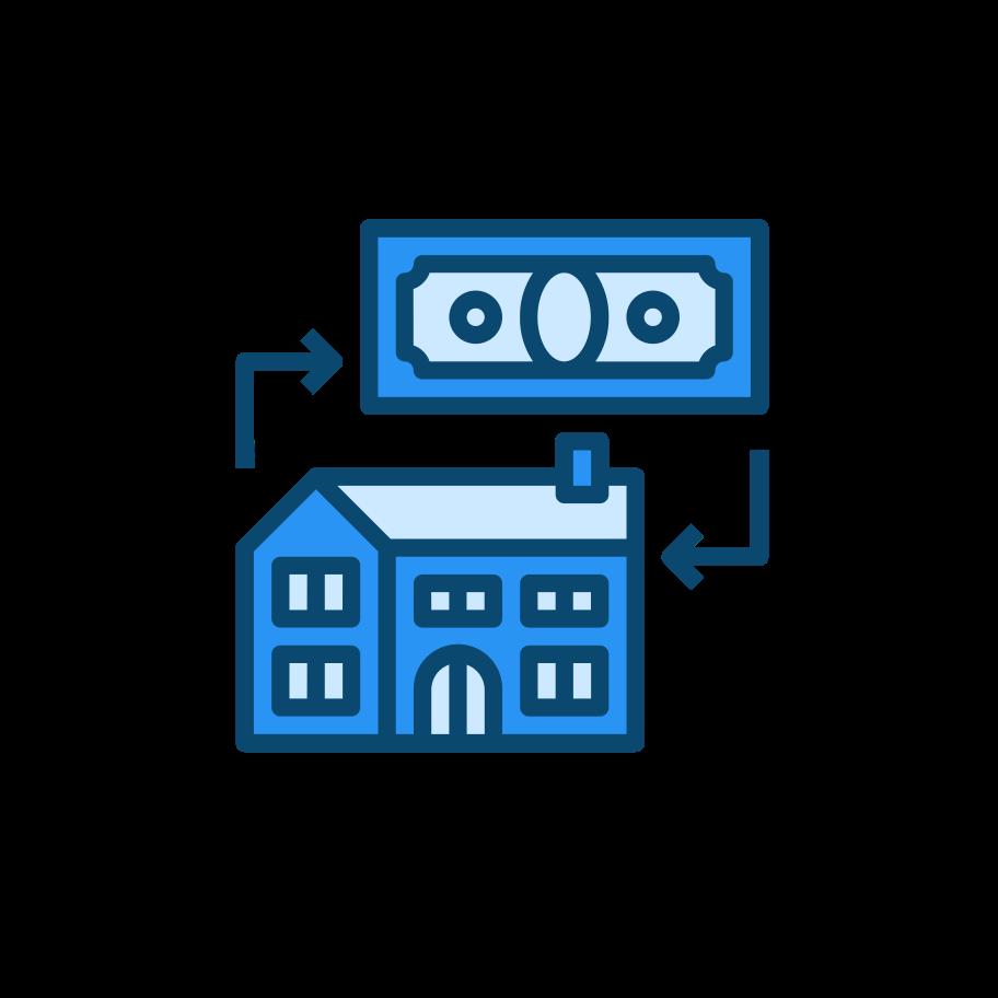 Real estate deal Clipart illustration in PNG, SVG