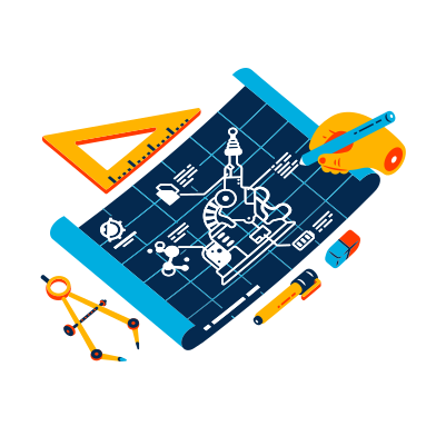 style Design Science images in PNG and SVG | Icons8 Illustrations