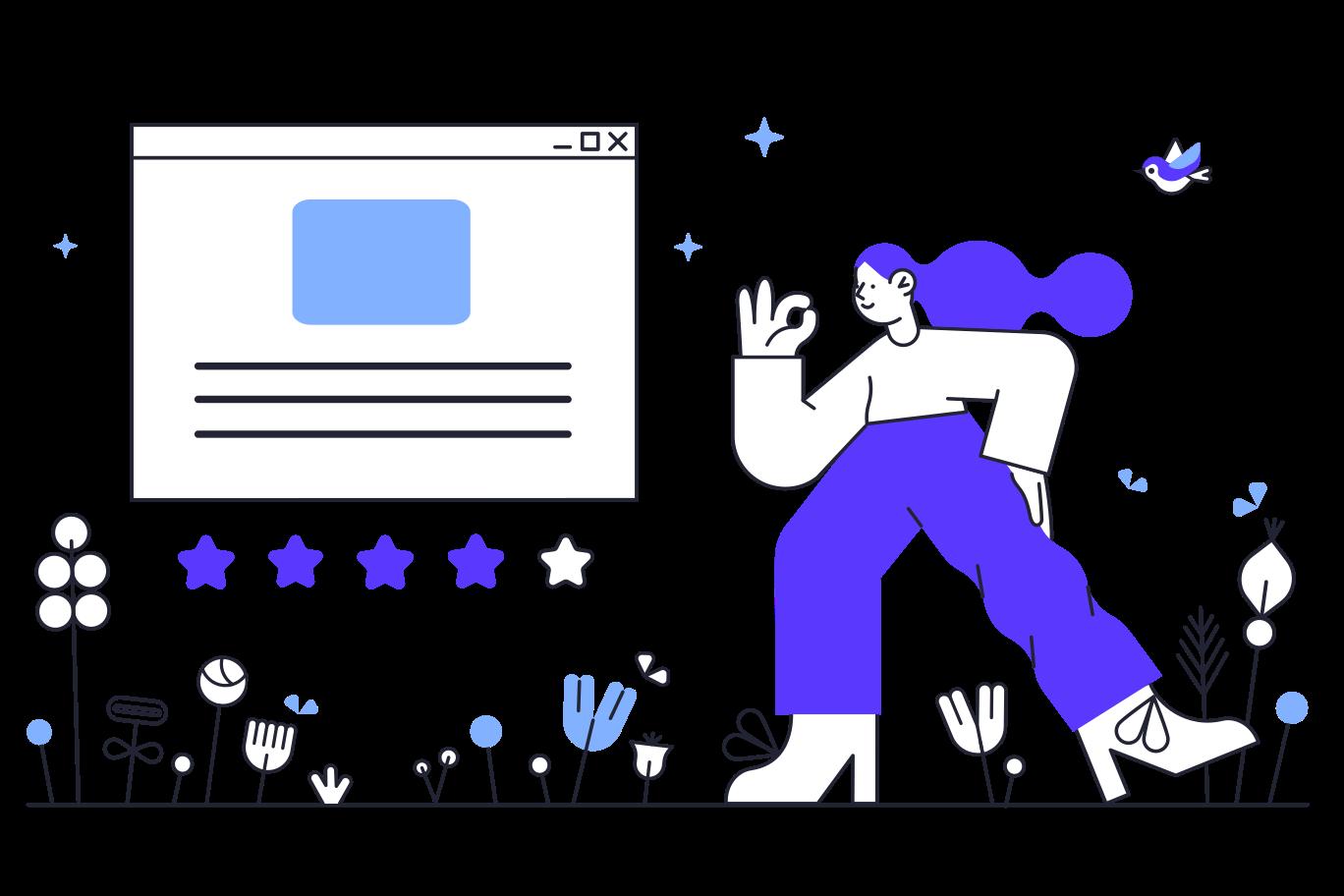 Ilustración de clipart de Rating en PNG, SVG