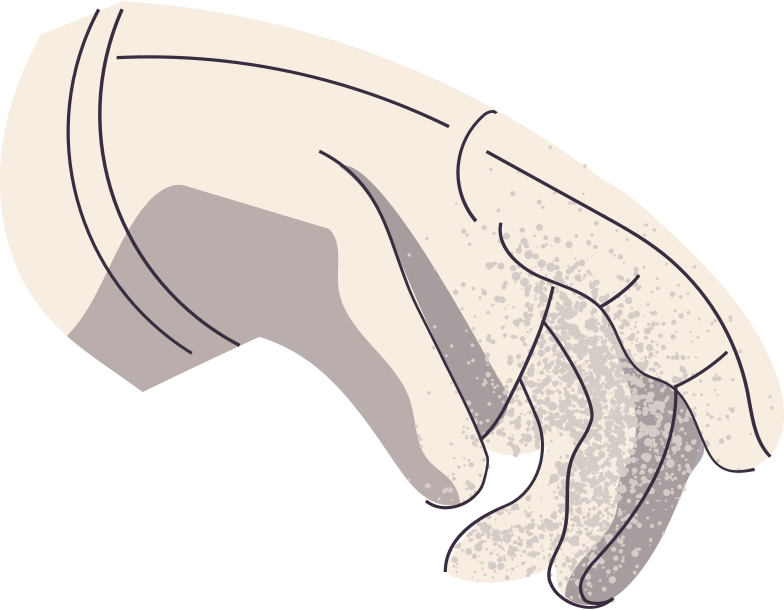 astronaut glove Clipart illustration in PNG, SVG