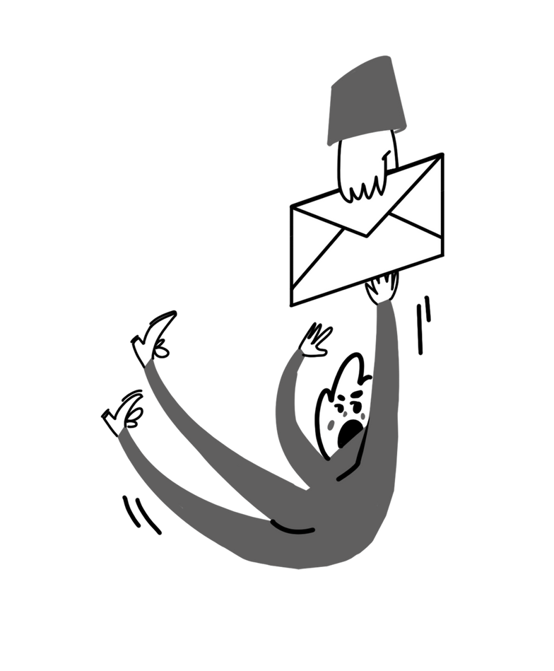 Messaggio consegnato Illustrazione clipart in PNG, SVG