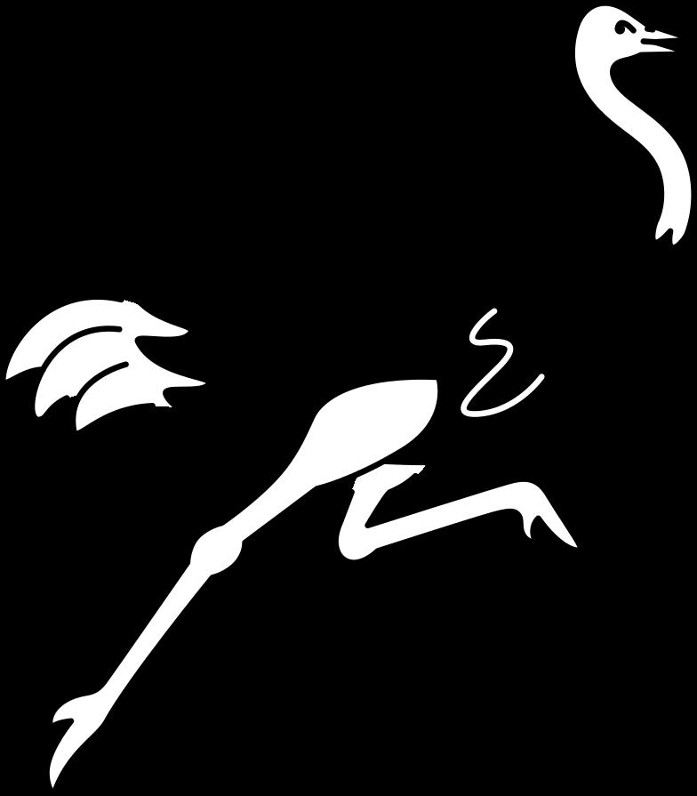 ostrich Clipart illustration in PNG, SVG