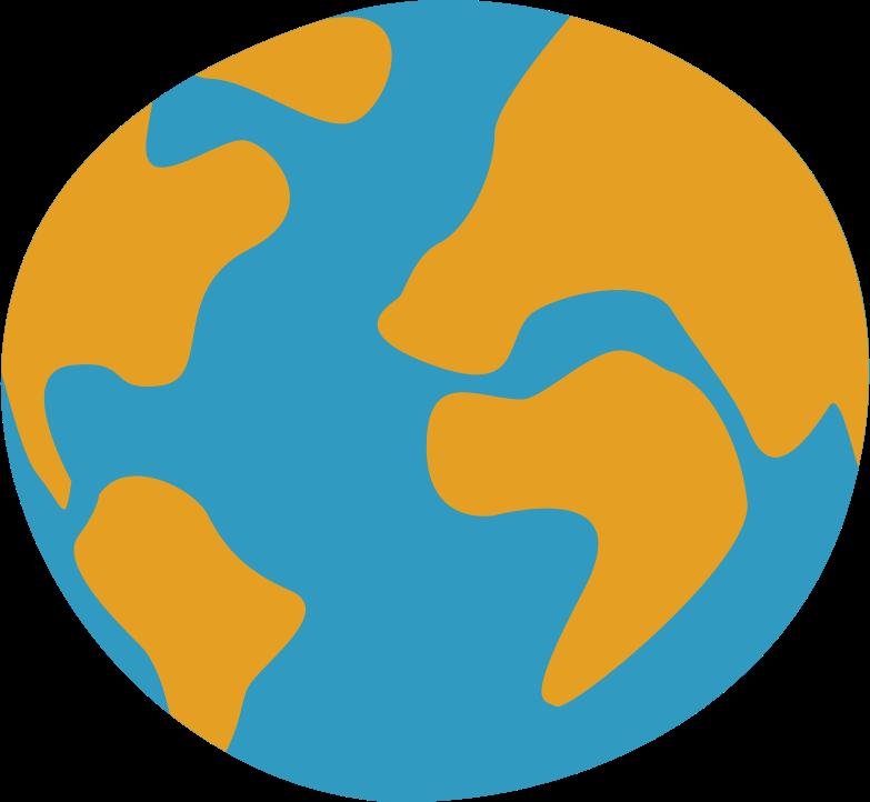 globe Clipart illustration in PNG, SVG