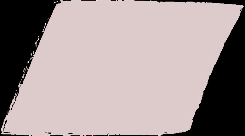 parallelogram-dark-pink Clipart illustration in PNG, SVG
