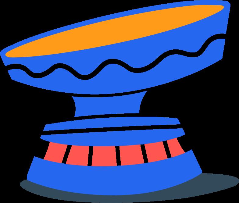 egg stand Clipart illustration in PNG, SVG