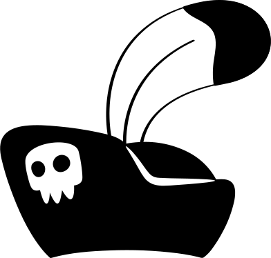 style the pirate hat images in PNG and SVG | Icons8 Illustrations
