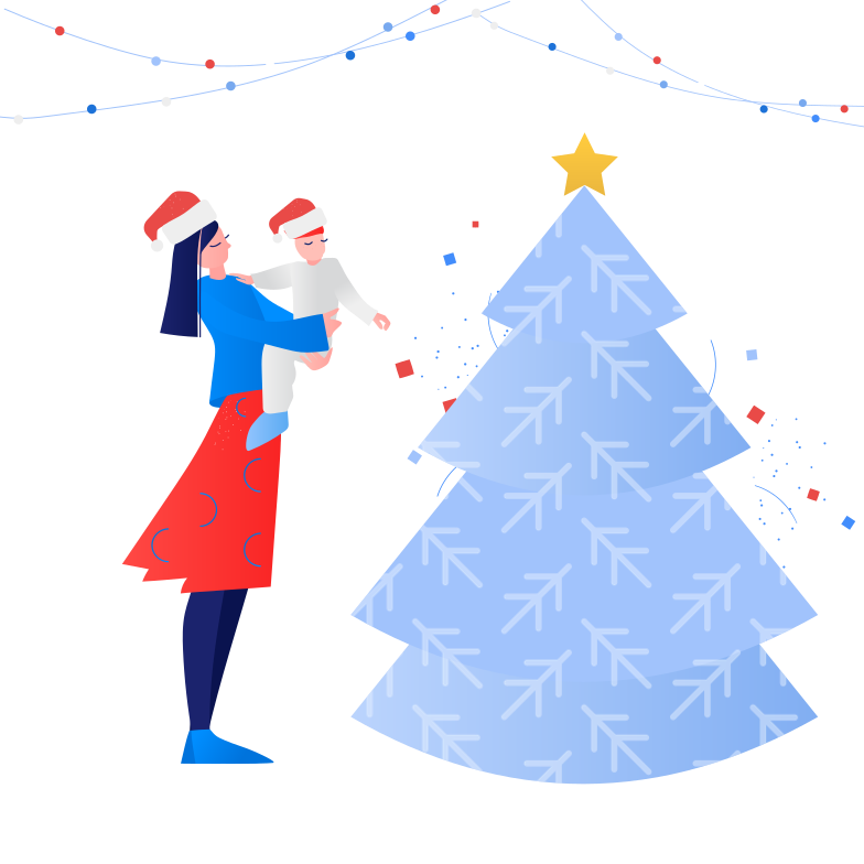 Christmas for childrens Clipart illustration in PNG, SVG