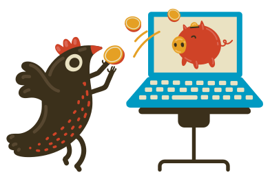 style Internet piggy banks images in PNG and SVG | Icons8 Illustrations