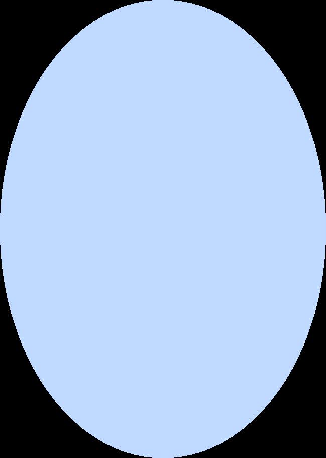 ellipse blue Clipart illustration in PNG, SVG