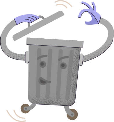 style trash-bin images in PNG and SVG   Icons8 Illustrations