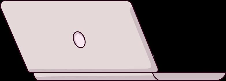 Illustration clipart notebook aux formats PNG, SVG