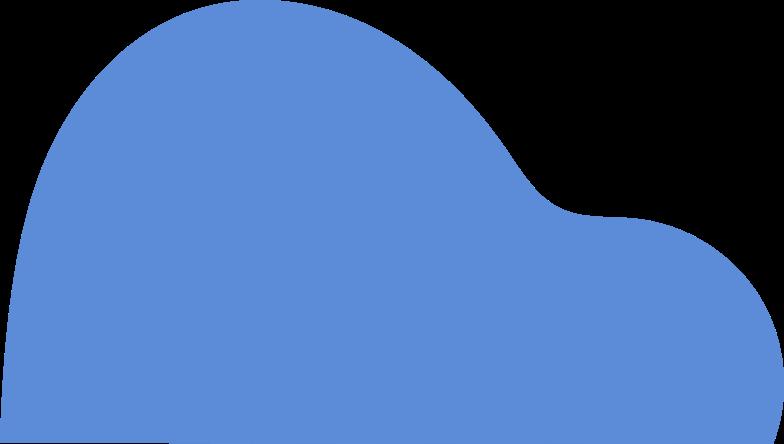 shape blue Clipart illustration in PNG, SVG
