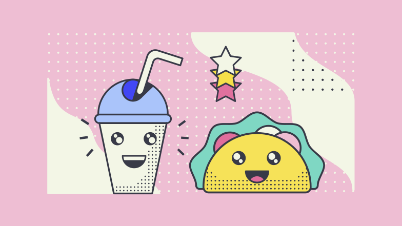 Cute food  Clipart illustration in PNG, SVG