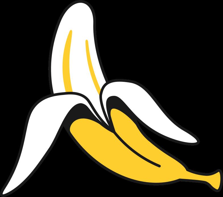 Immagine Vettoriale banana in PNG e SVG in stile  | Illustrazioni Icons8