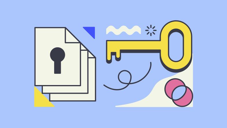 Information security Clipart illustration in PNG, SVG