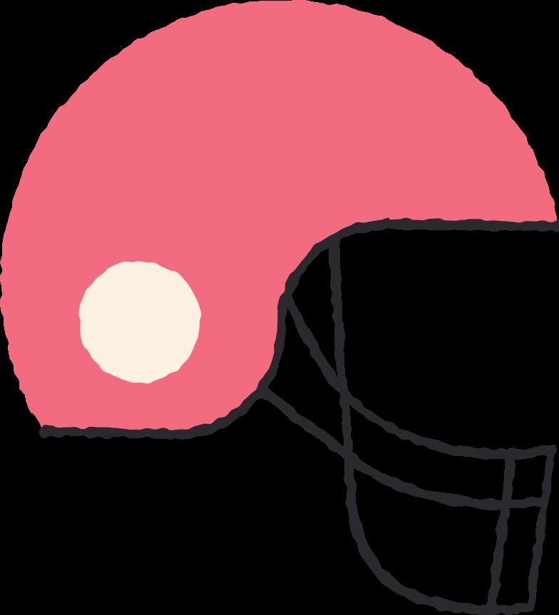 football helm Clipart-Grafik als PNG, SVG