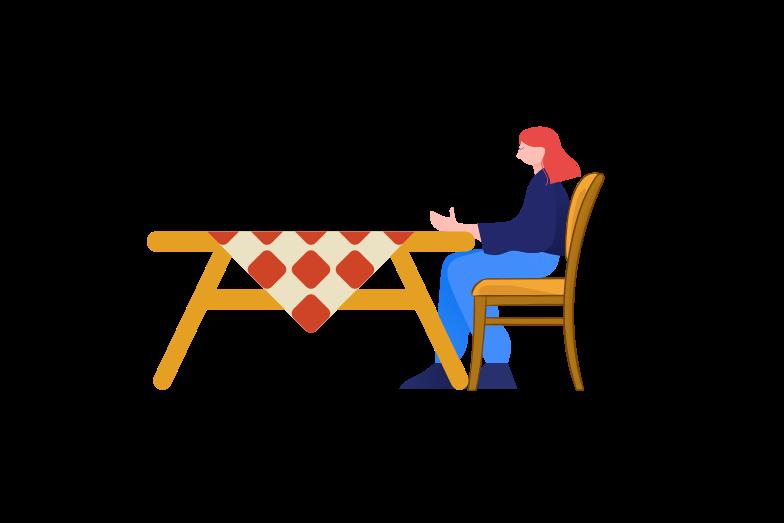 Waiting for order Clipart illustration in PNG, SVG