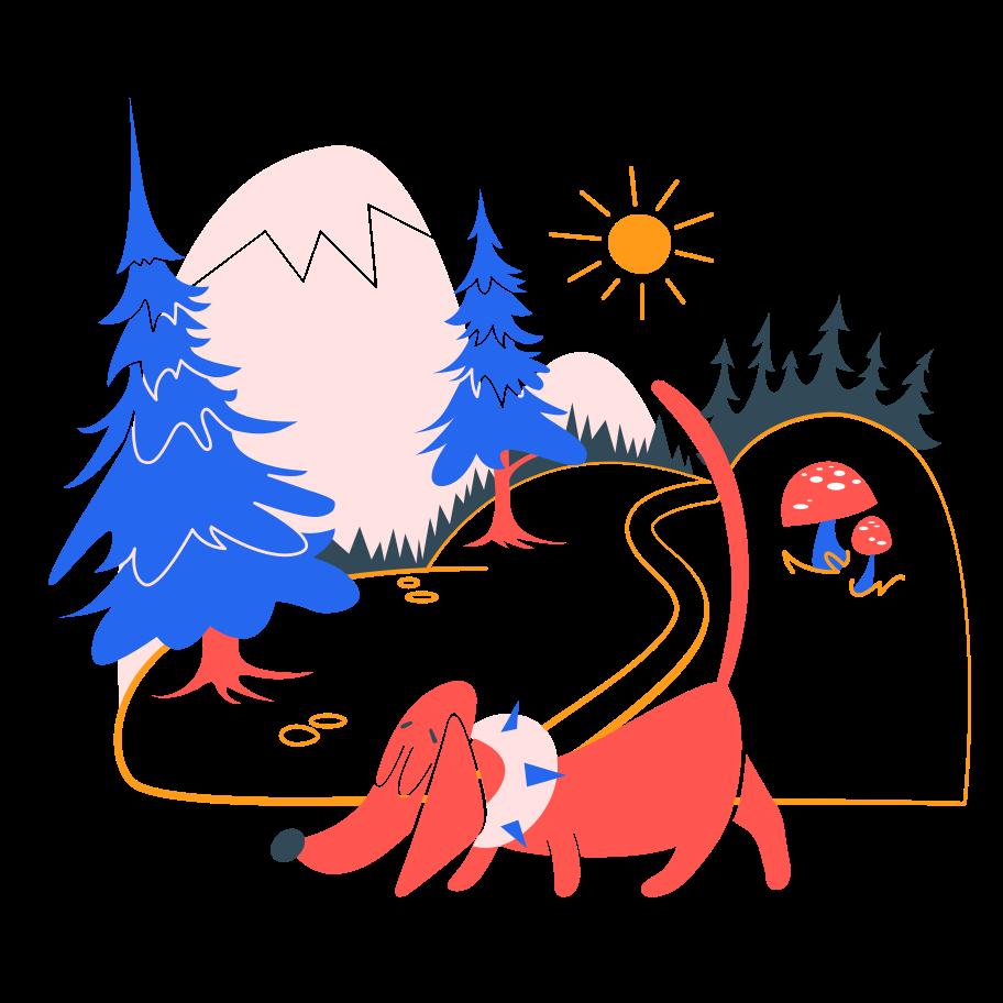 PNGとSVGの  スタイルの 森の脱出を楽しんでください。 ベクターイメージ | Icons8 イラスト