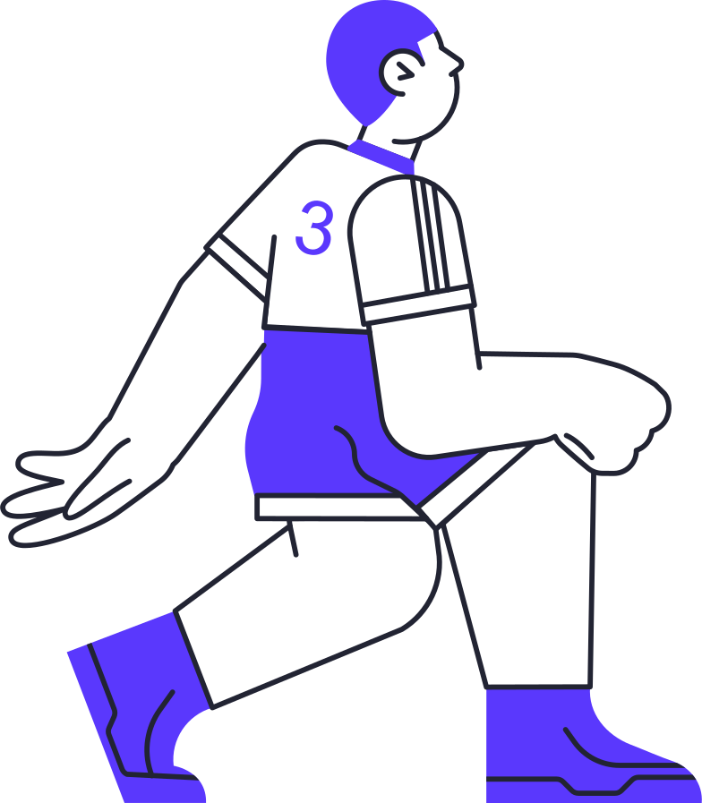 artificial inteligence  table tennis player Clipart illustration in PNG, SVG