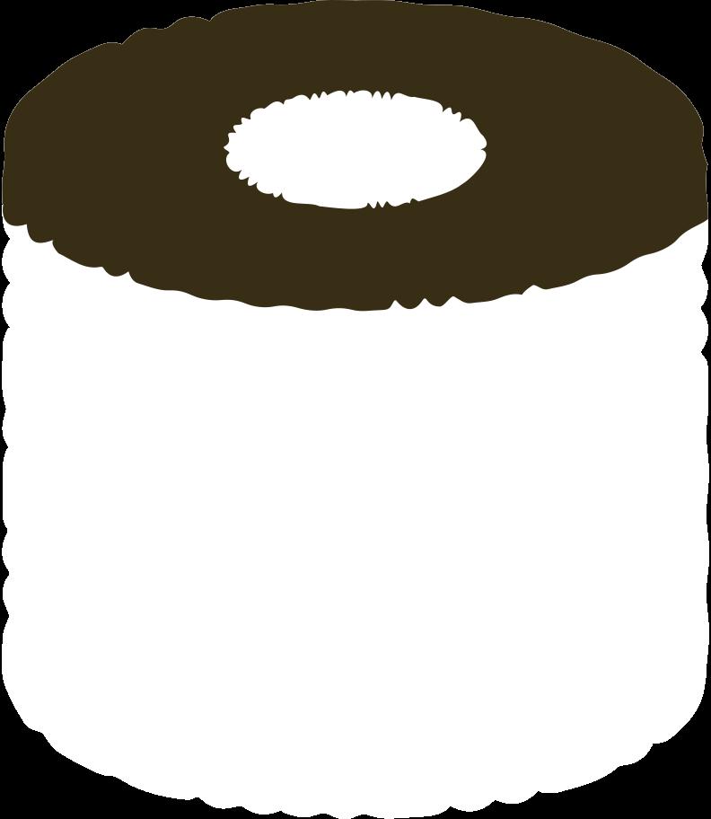 toilet paper Clipart illustration in PNG, SVG