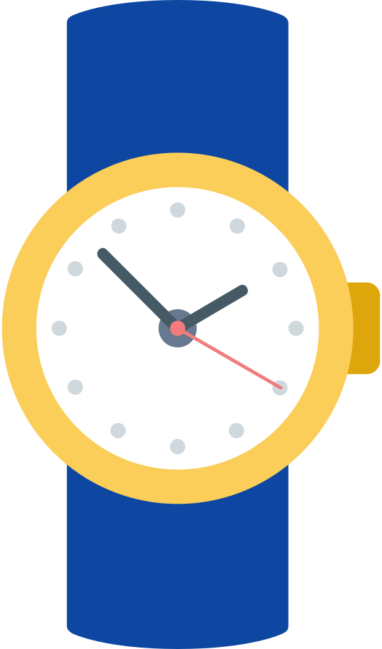 watch Clipart illustration in PNG, SVG