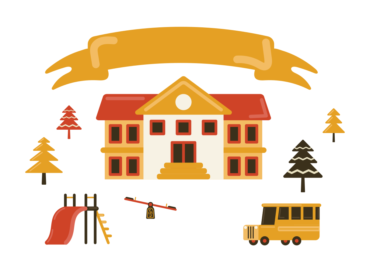 Private school Clipart illustration in PNG, SVG