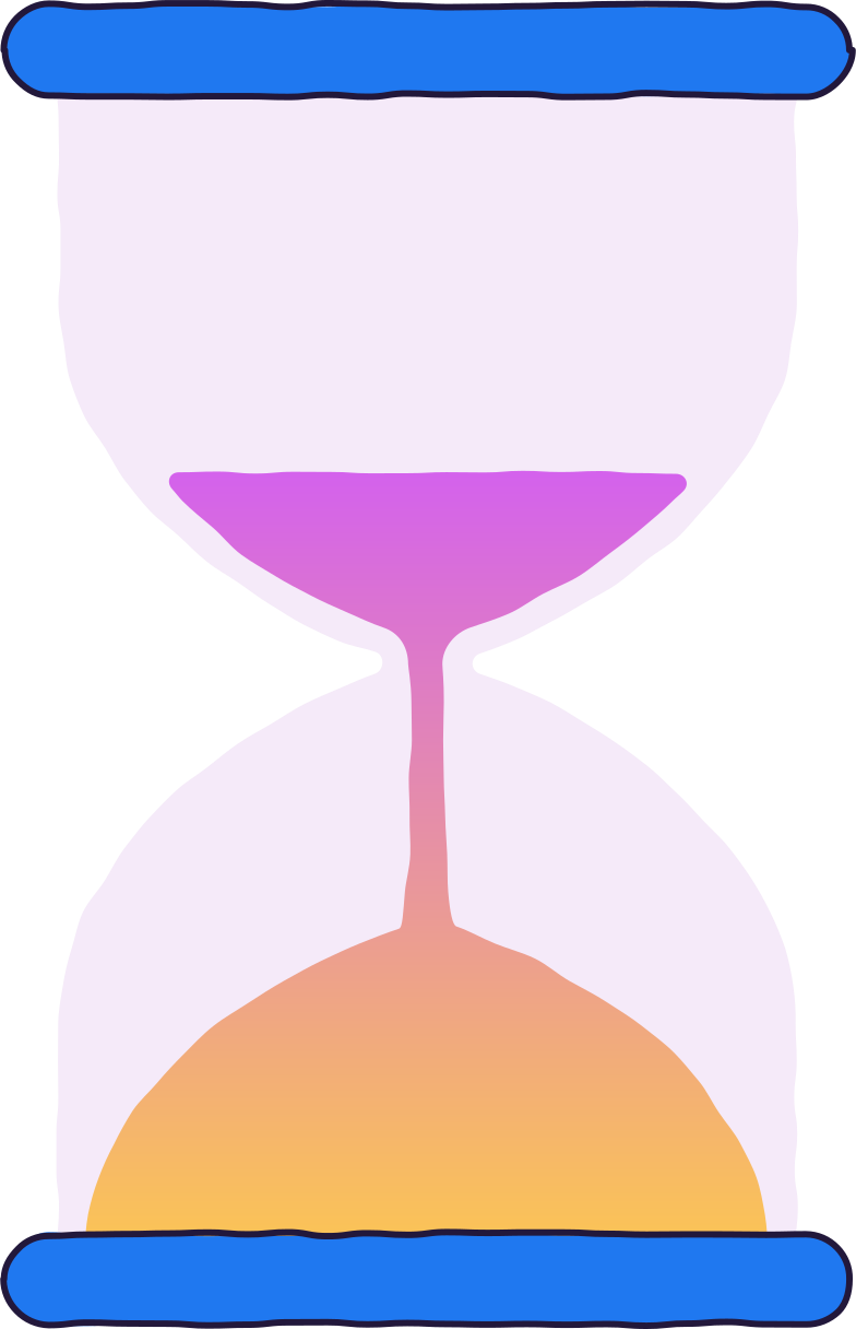 glass hour Clipart illustration in PNG, SVG