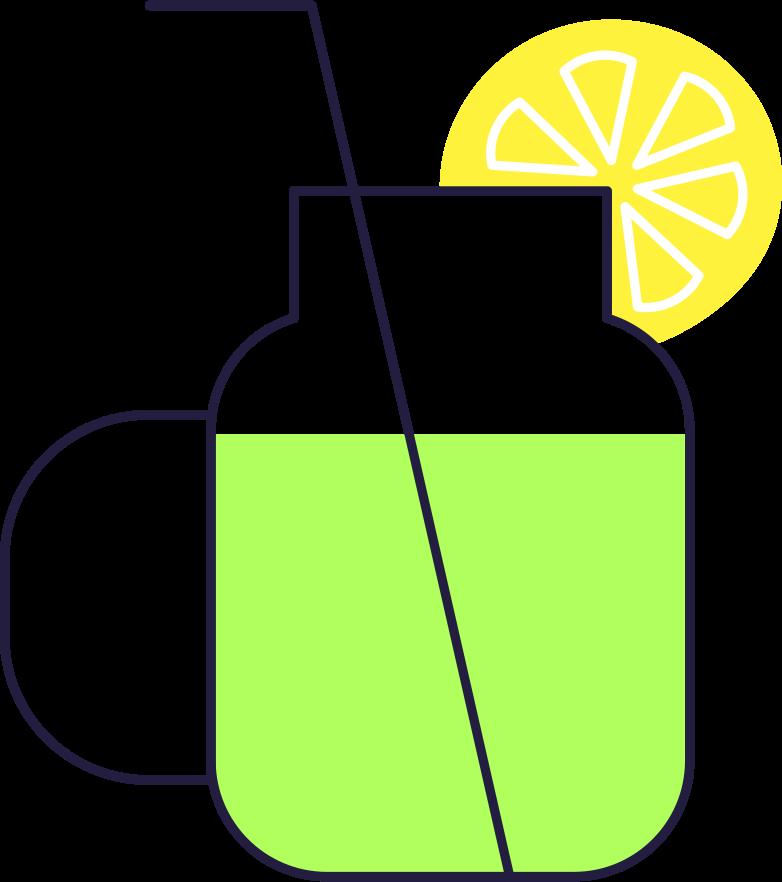 lemonade Clipart illustration in PNG, SVG